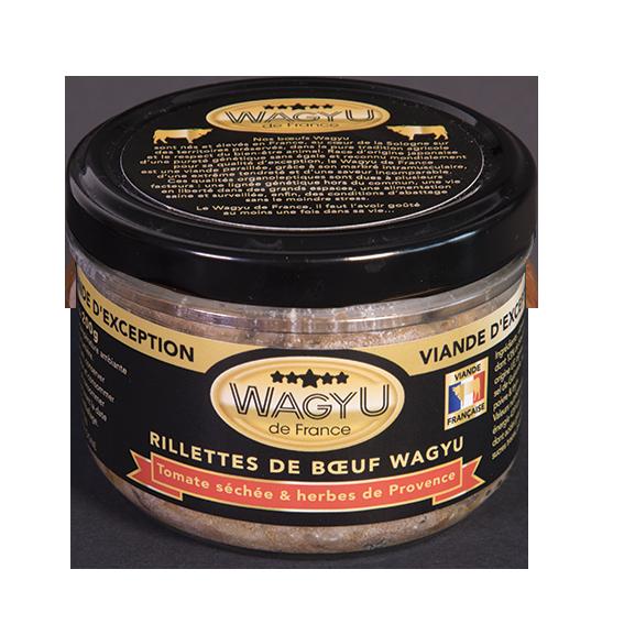 Rillettes de boeuf Wagyu - Piment d'Espelette