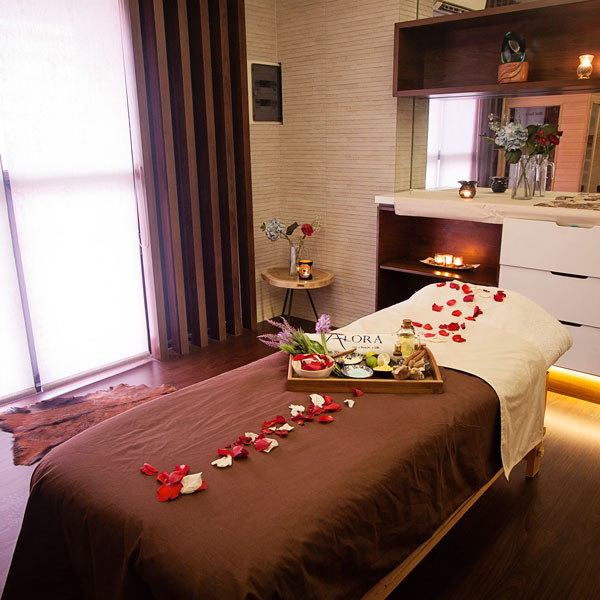 Ruangan Spa dan Waxing di Alora - Hair, Beauty & Spa di Jakarta