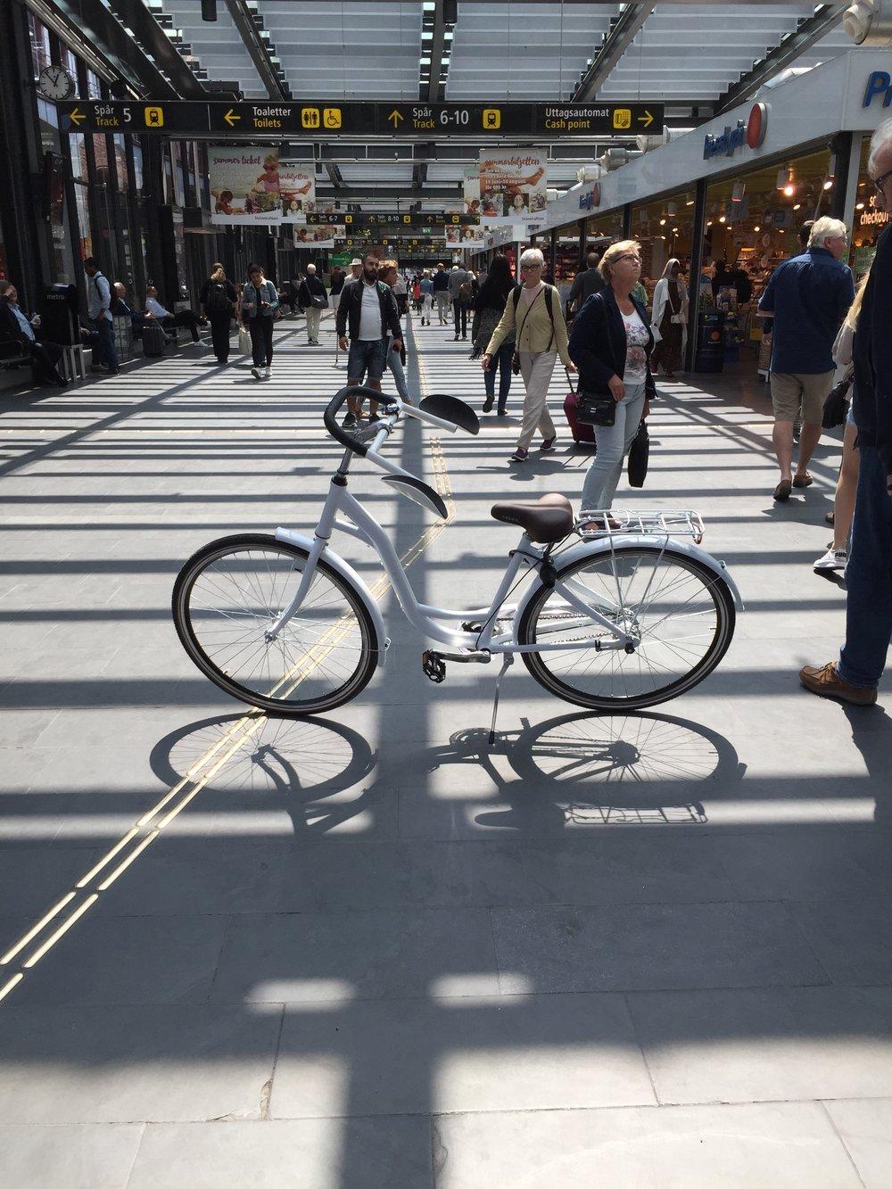 Klar til en cykeltur