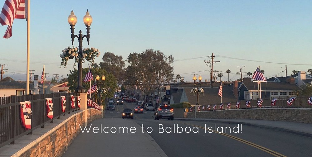 Welcome to Balboa Island!