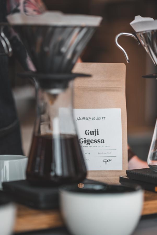 Coffee Jacobsen og Svart