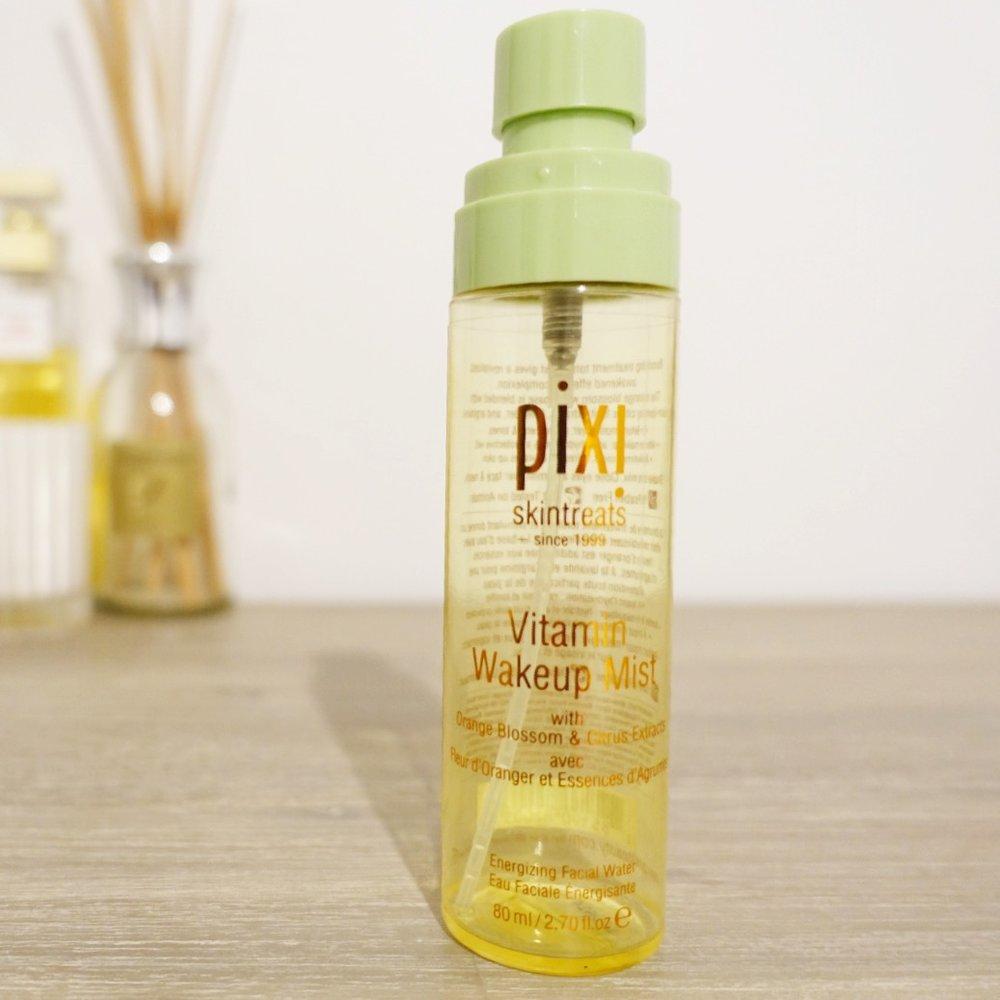 Pixi Vitamin Wakeup Spray Journal By Jenny Pixy Aqua Beauty Protecting Mist 60 Ml