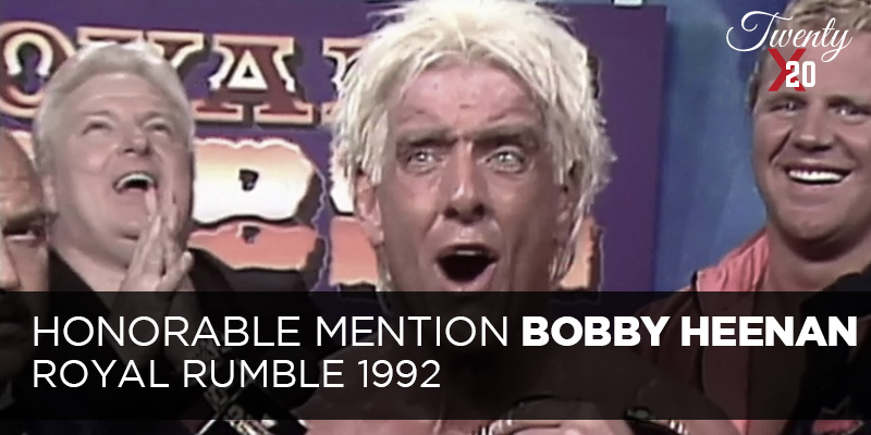 Bobby Heenan Royal Rumble 1992
