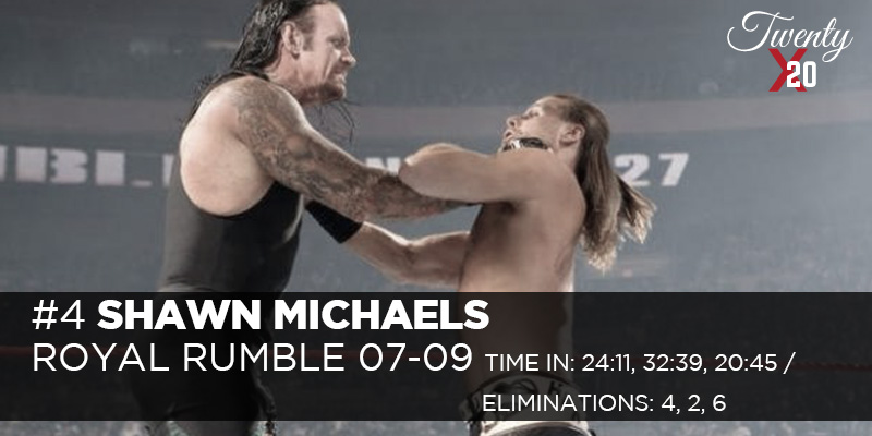 Shawn Michaels Royal Rumble