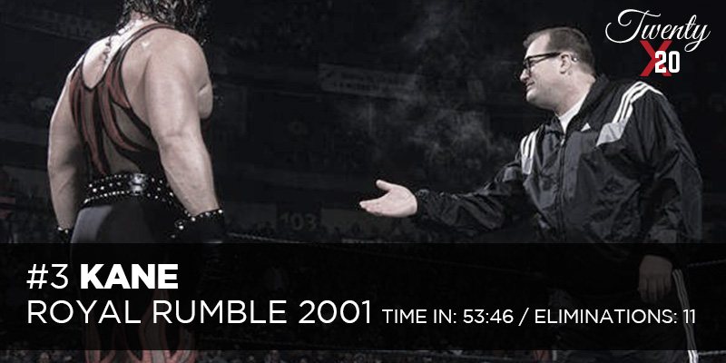 Kane Royal Rumble 2001