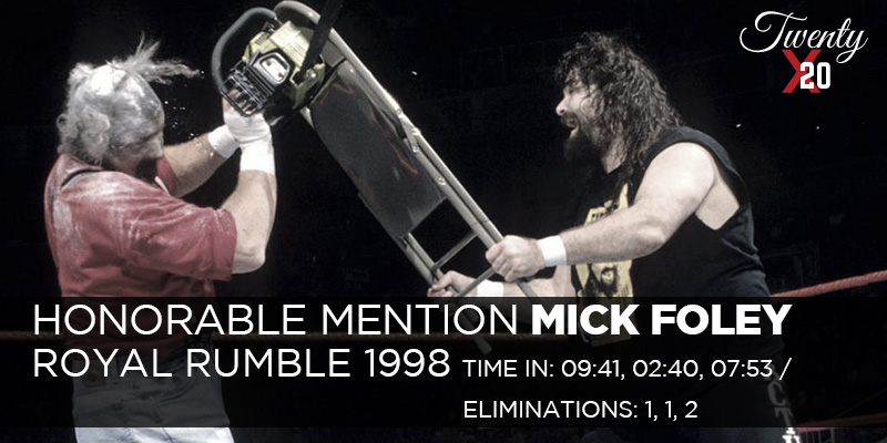Mick Foley Royal Rumble 1998