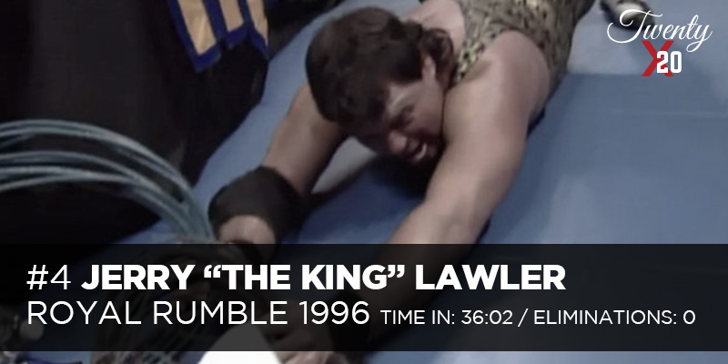 Jerry Lawler 1996 Royal Rumble