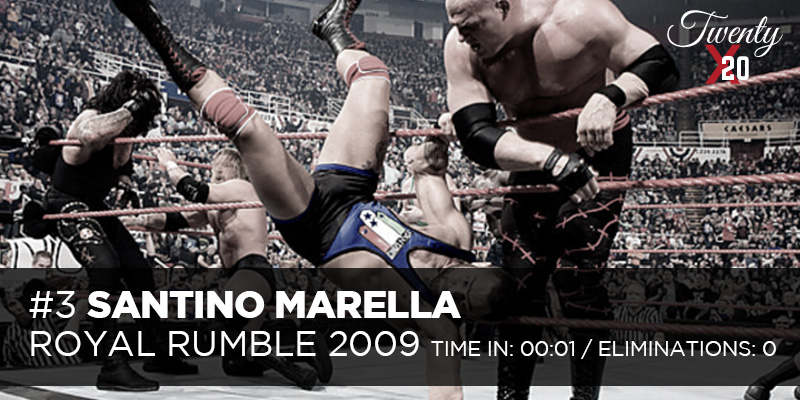 Santino Marella Royal Rumble 2009