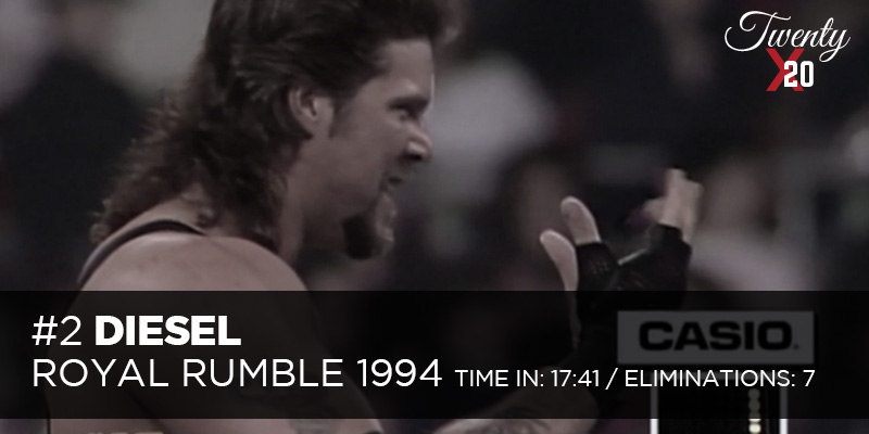 Diesel Royal Rumble 1994