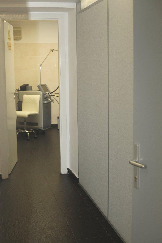 коридор клиники БРАВА