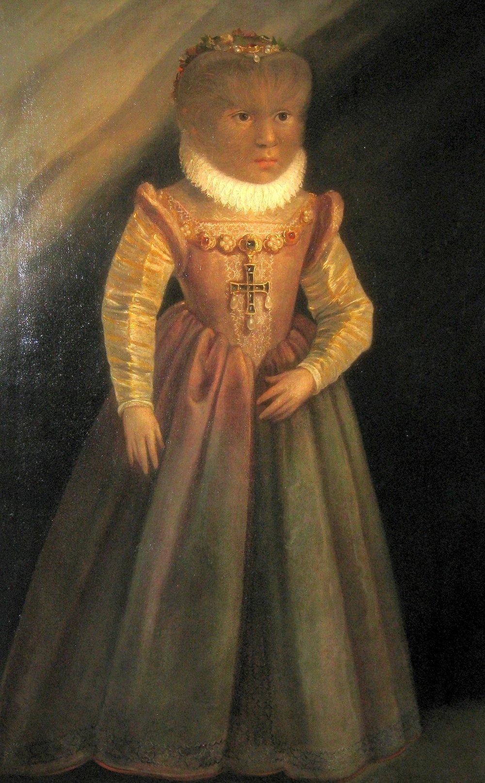 дочь Петруса Антониетта унаследовала болезнь отца