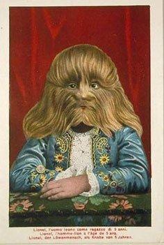 В самом конце 19– первой четверти 20 века популярностью пользовался человек-лев Stephan Bibrowski, выходец из Польши.