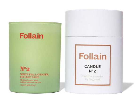 Candle No. 2      Follain