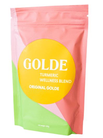 GOLDE Turmeric Wellness Powder      Blk + Grn