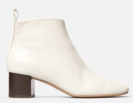 White Ankle Boots  | Everlane