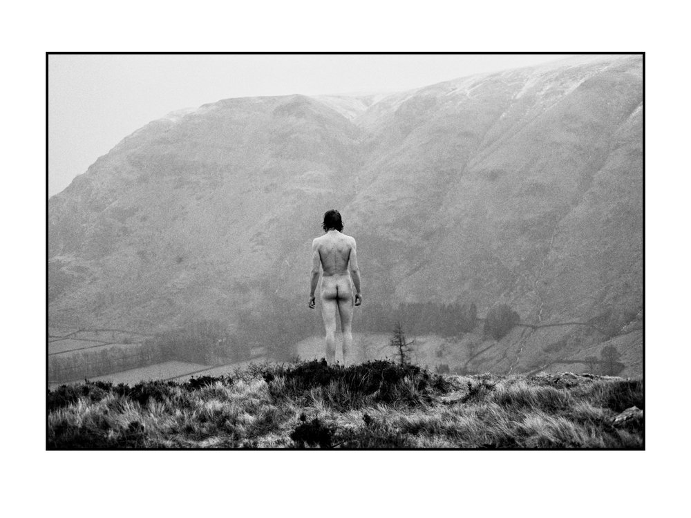 Rebecca Rose Harris, The Religion Of The Mind, Analogue photography, black and white, conceptual art, male nude