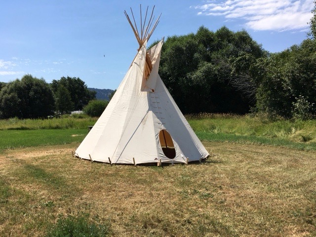 Copy of Teepee at Nez Perce Wallowa Homeland