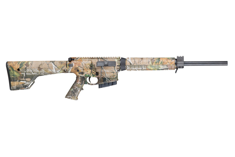 M&P10  For big game hunters, the M&P10 from Smith & Wesson offers sportsmen a ready-to-go package chambered in .308 Winchester. It's a work-horse in its' class making it a perfect tool for the avid hunter.