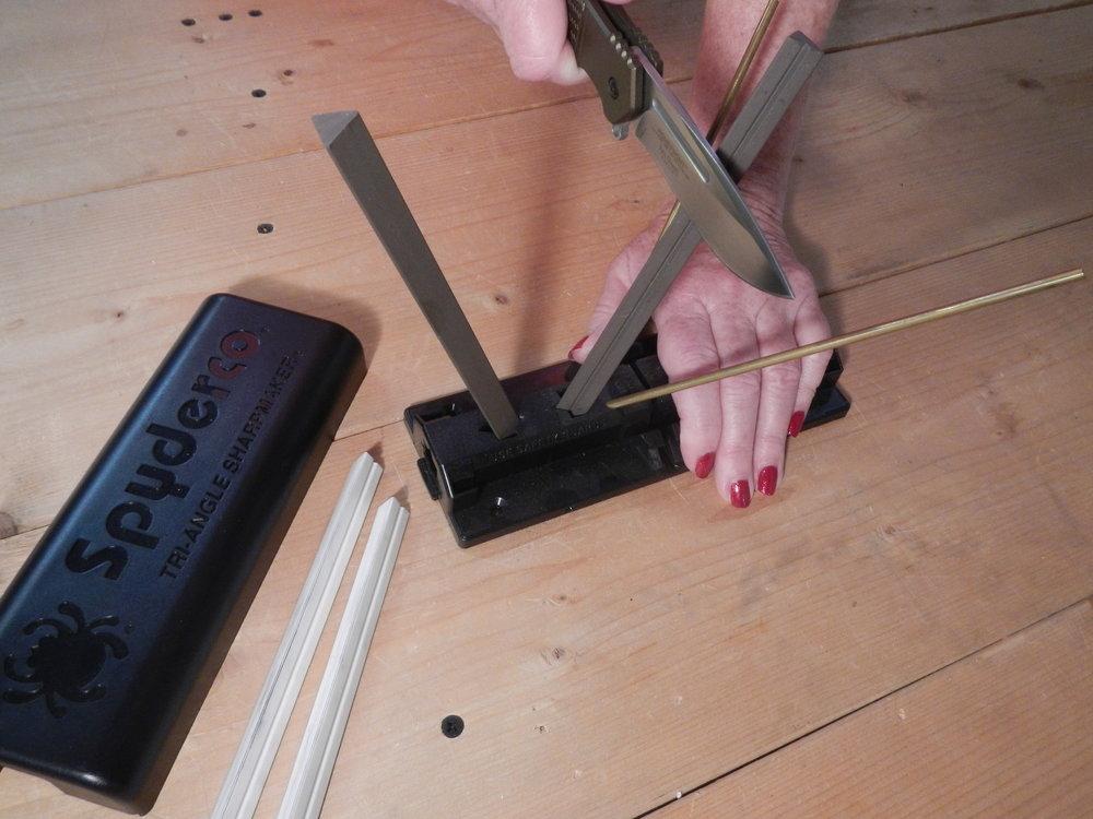 knife sharpening skills