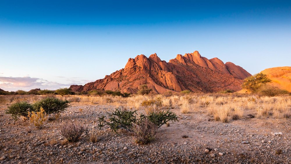 Calm Dawn At Spitzkoppe