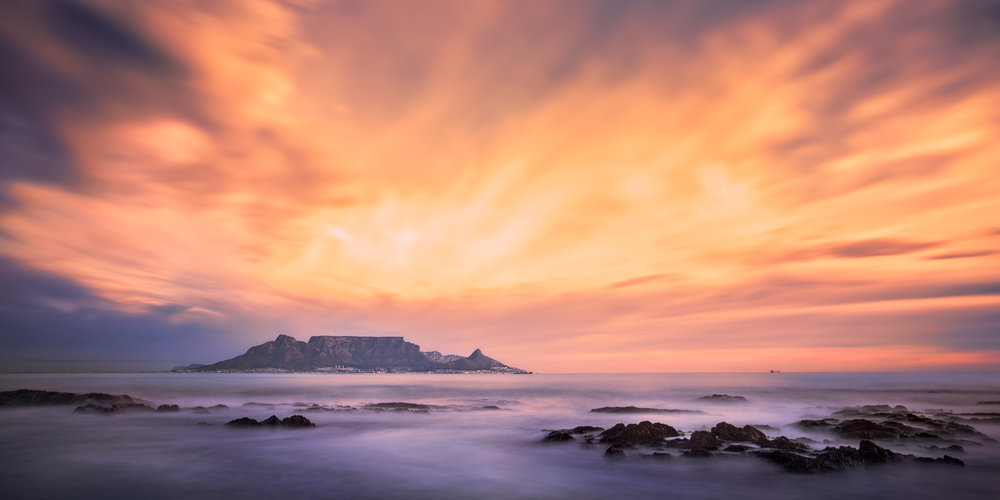 Dramatic Sunset Table Mountain