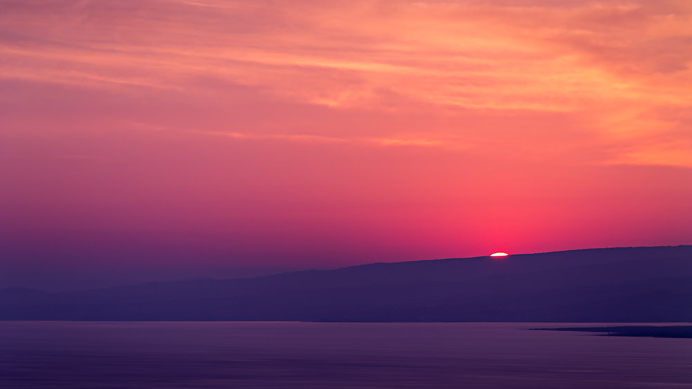 Aegean Sea Sunset