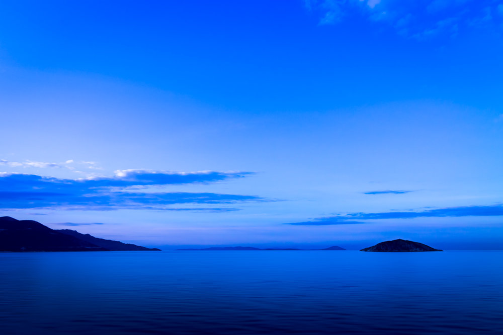 Dawn At Aegean Sea