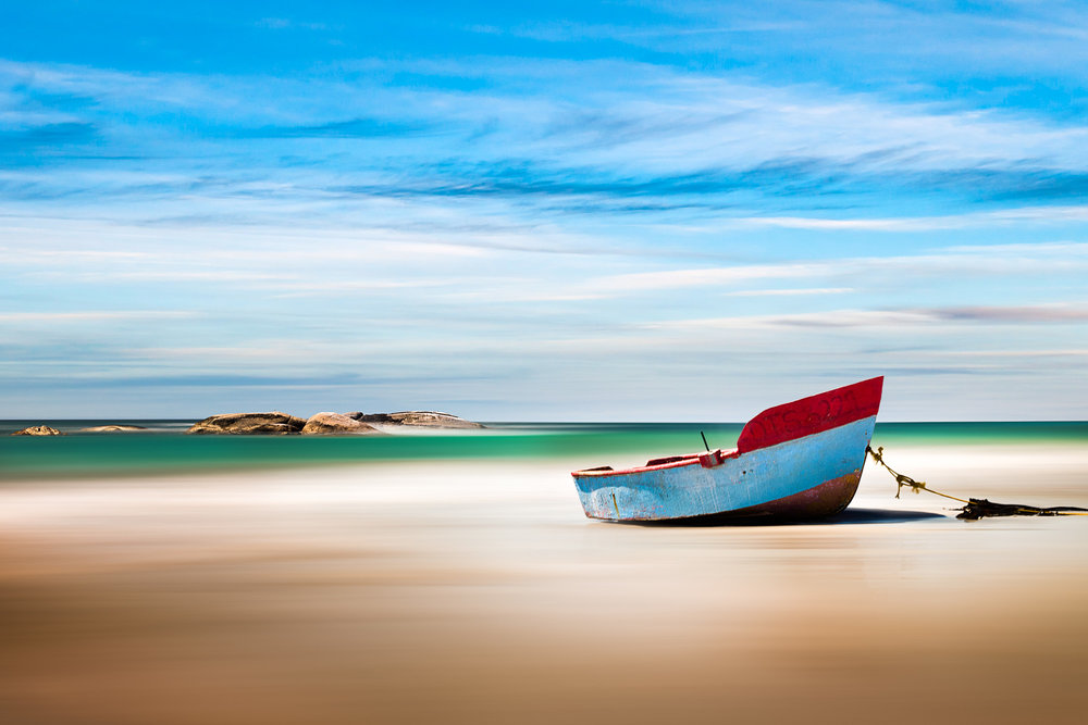 Fishing Boat At Paternoster