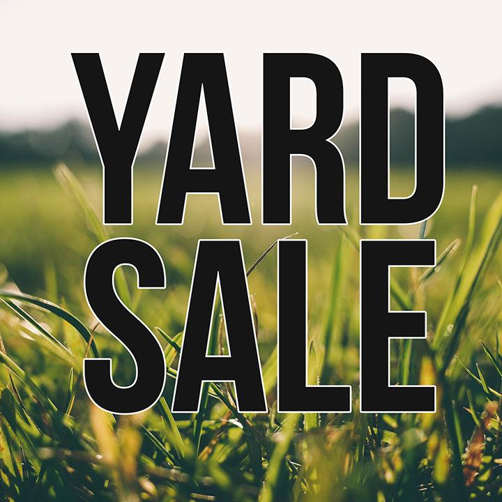 Yard Sale: New Apostolic Church — The Borough of Greenville