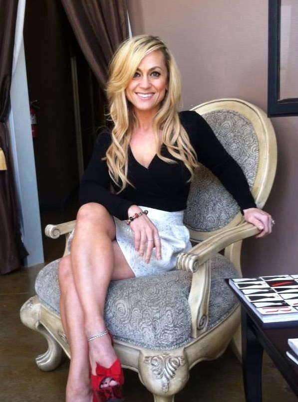Sibel Allison, professional stylists in a chair