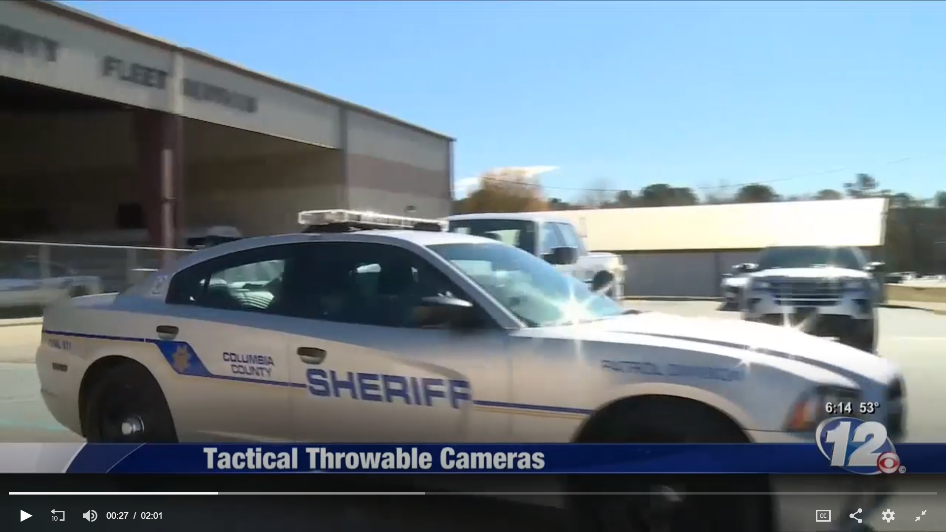 Columbia County, GA - Using our 4G cameras across police, fire, and