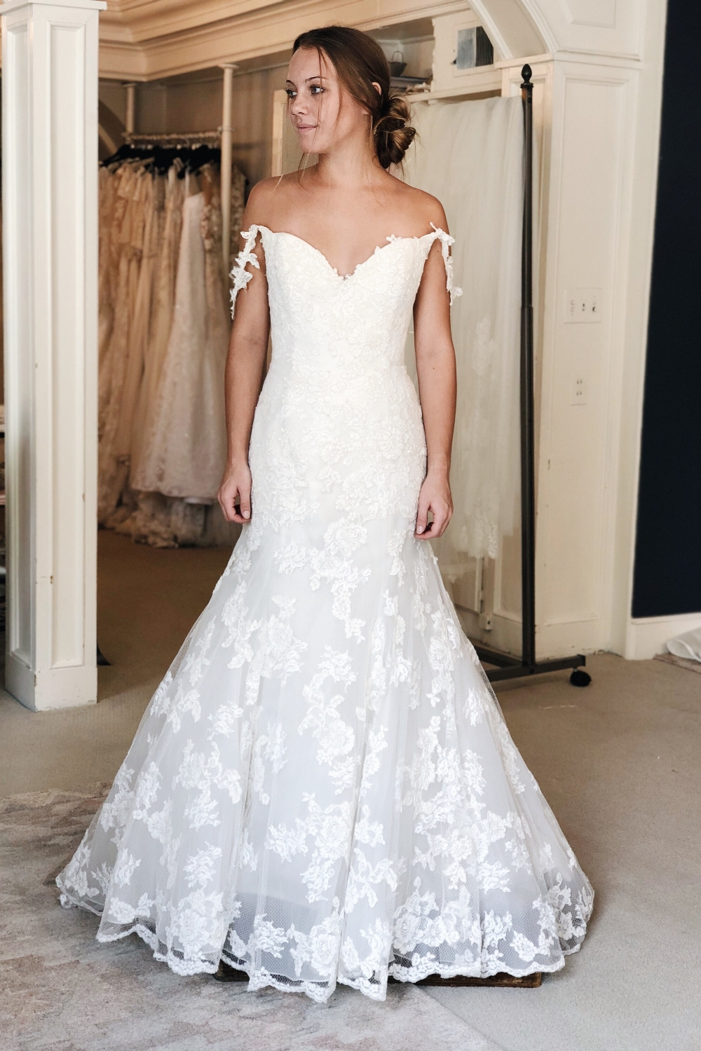 Enzoani diana - was: $2575our price: $1802Sale price: $1531