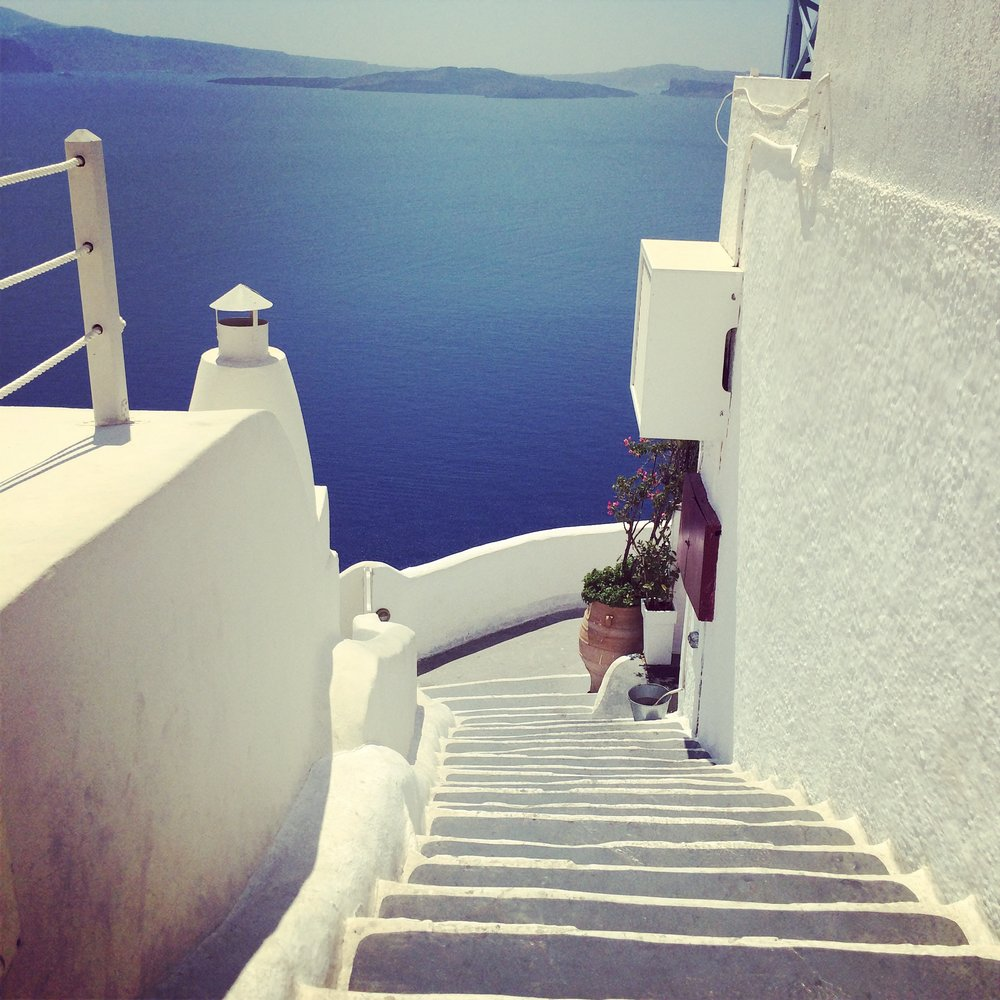 Santorini, Greece - September - October 2019