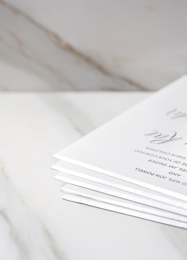 Bella Figura, Featured Invitation, 2015