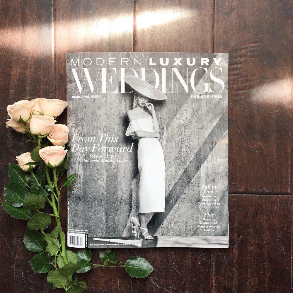 2018 Wedding Insider, Modern Luxury Magazine, 2018