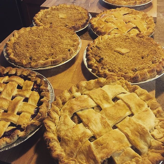 PIE ANYONE? - ASK ABOUT SEASONAL FRESH PIES