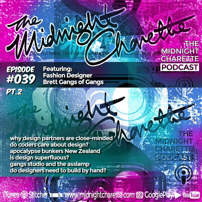 039 2 The Design Process Of Fashion Designer Brett Gangs The Midnight Charette
