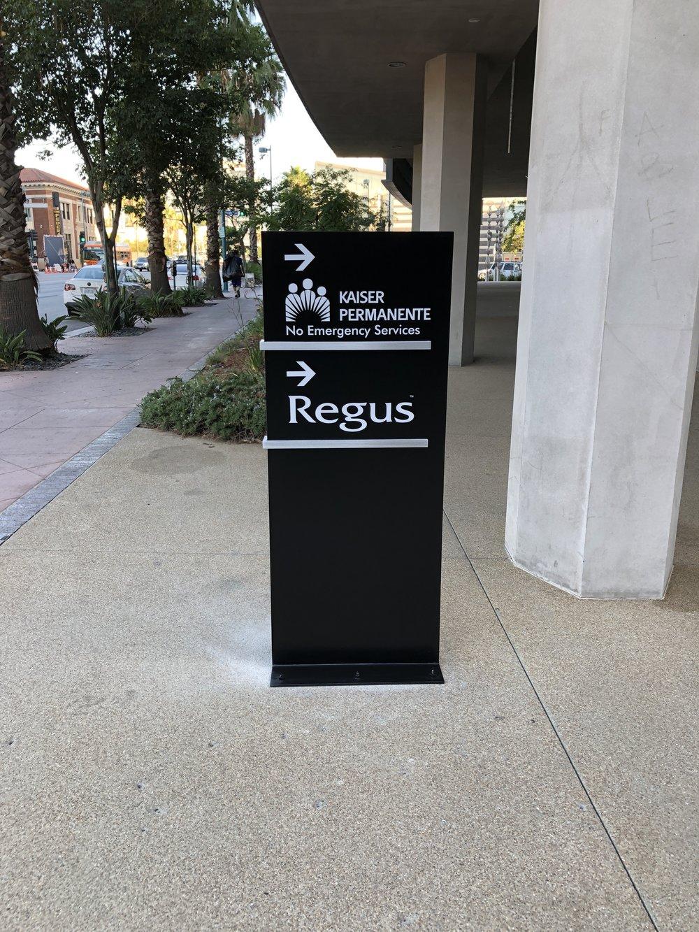 Podium Sign