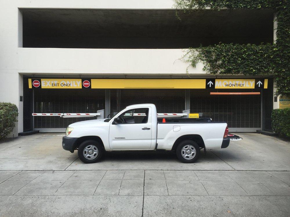 Parking Entrance Exit Graphics