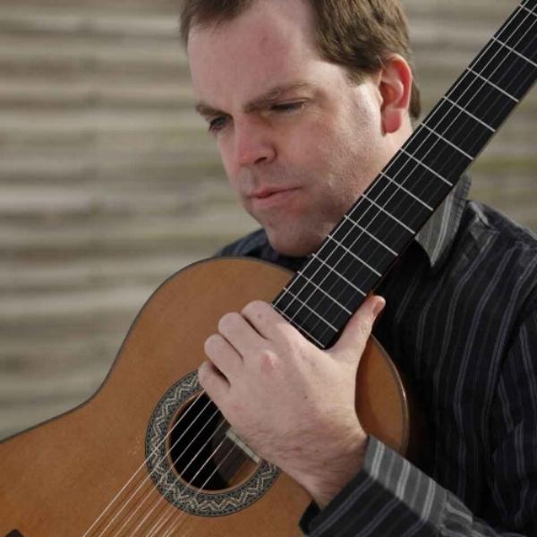 Tim Courtney plays classical guitar