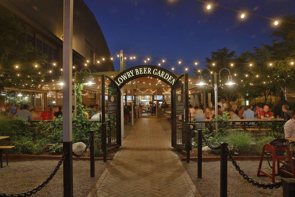 Lowry beer garden city street investors