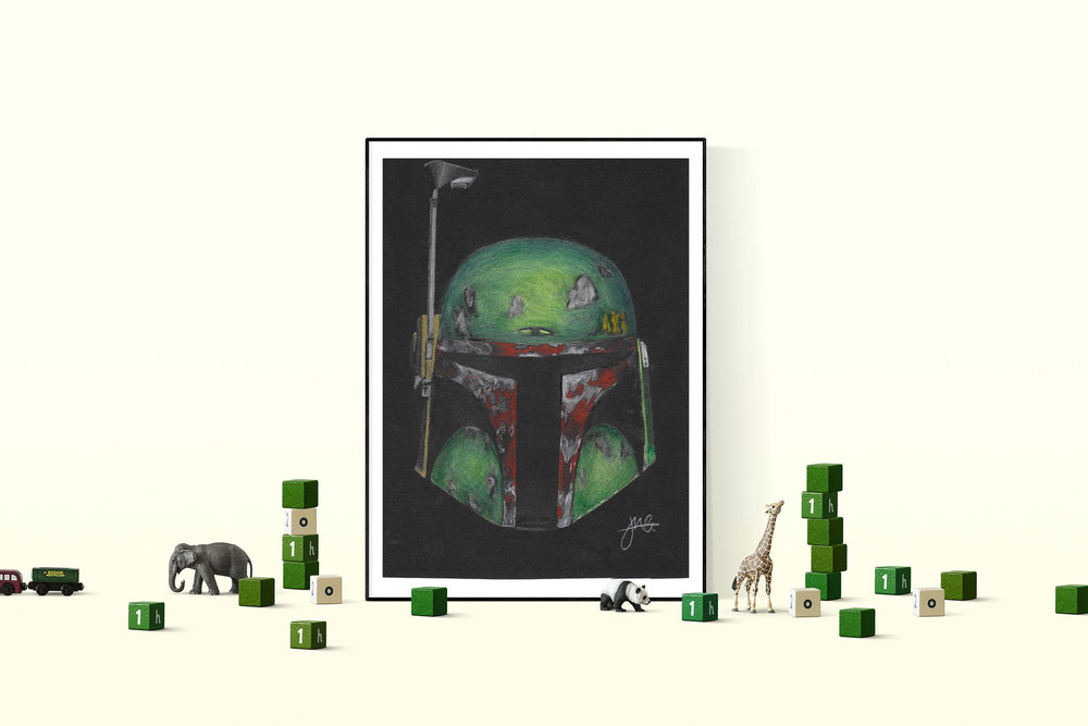 'Boba Fett' Print by Joe