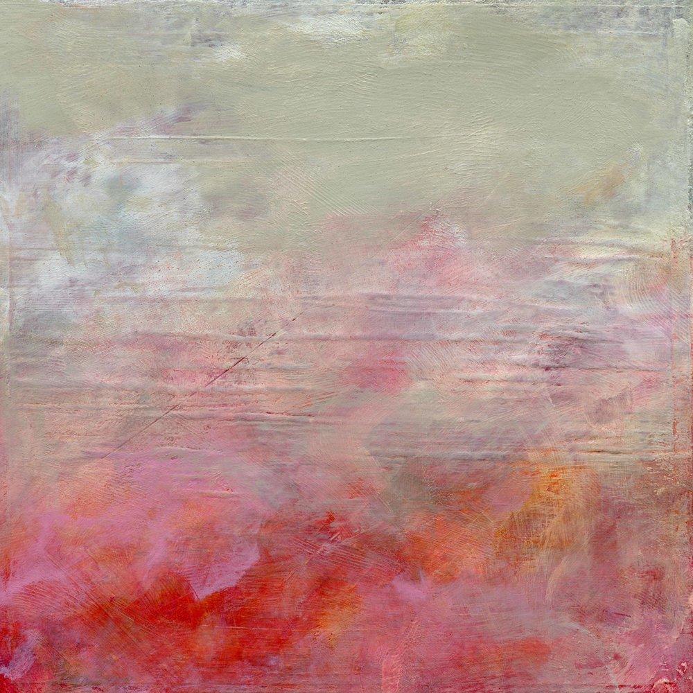 Kierstie Masih's pink putty abstract giclée print