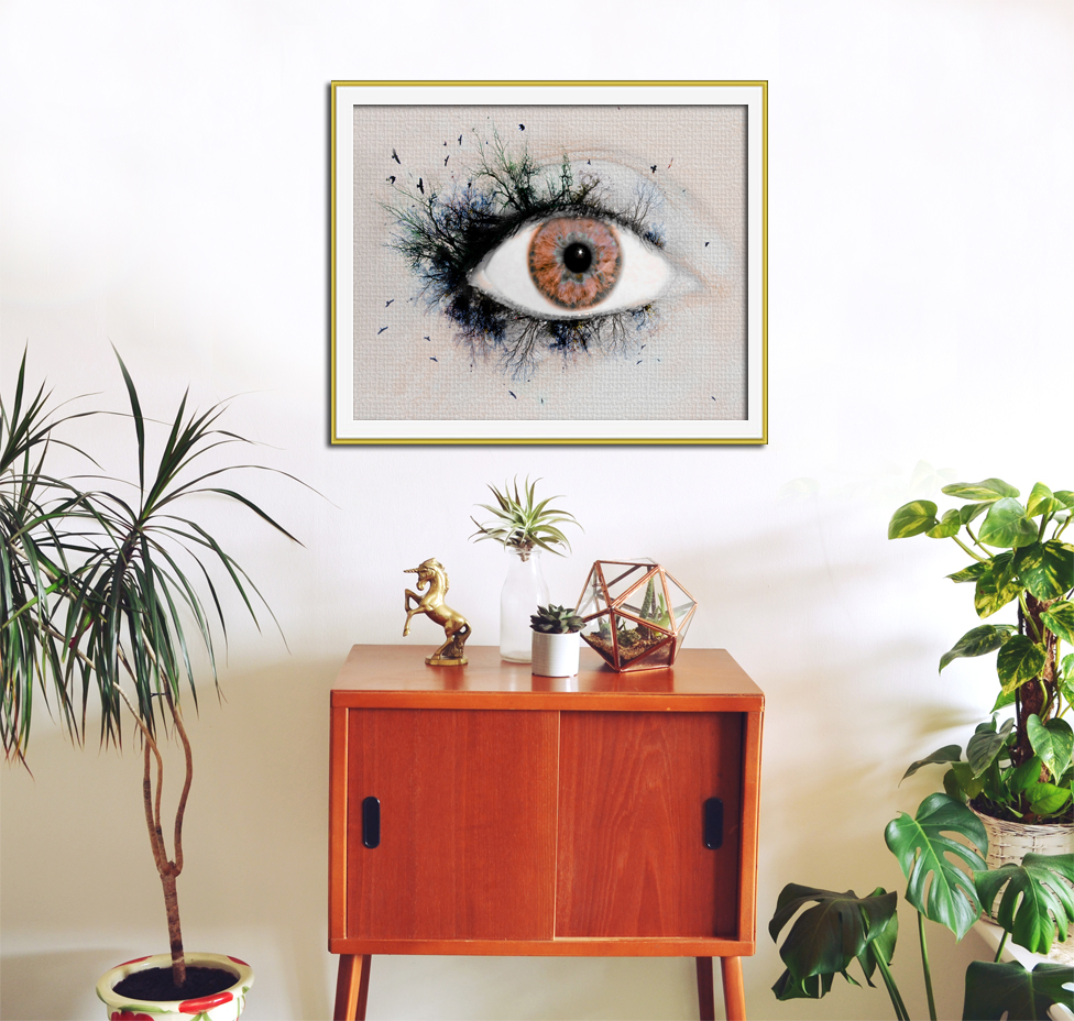 'Hypnotised' Photographic Print by Aga Farrell