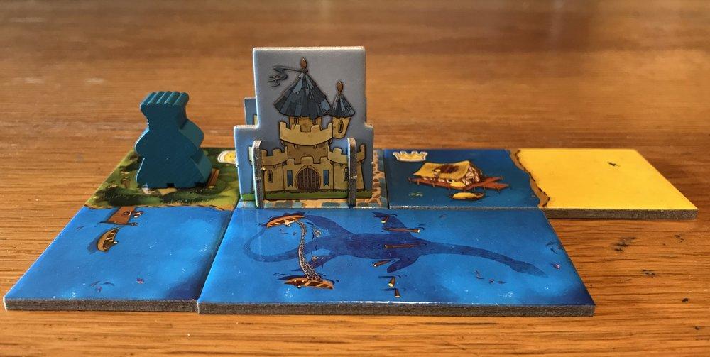 En lille blå Konge, i hans lille blå kongerige