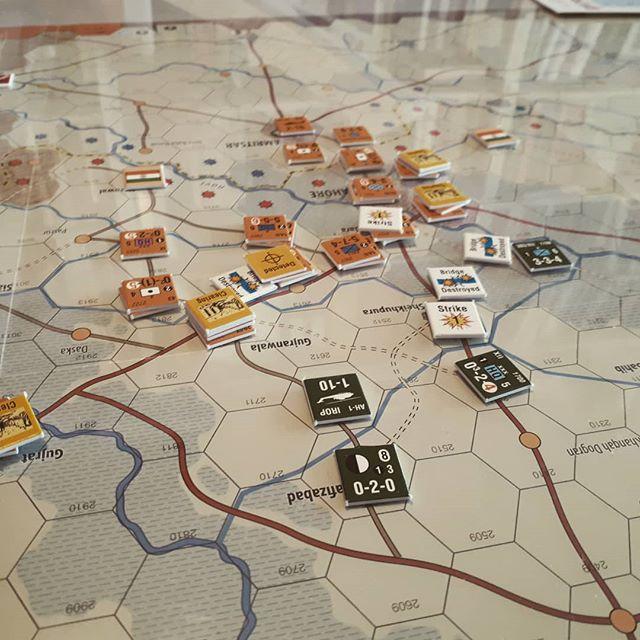 Next War: India Pakistan, hvor rismarkerne er dødelige og broerne smadres. #nextwar  #gmtgames #krigsspil #wargames