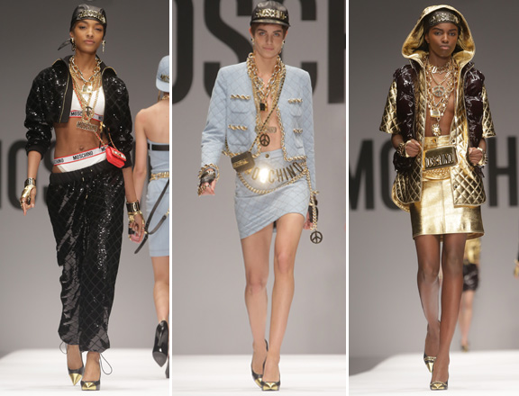 Moschino Couture Fall Winter 2014 Hip Hop Inspired Collection