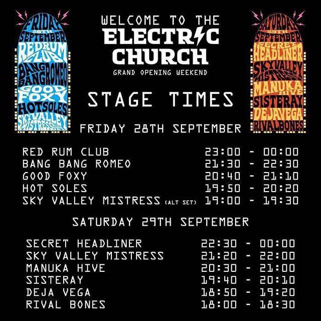 TONIGHT;  BLACKBURN; @electricchurchclub; 18:00  BRING THE HEAVY! 👁☠️
