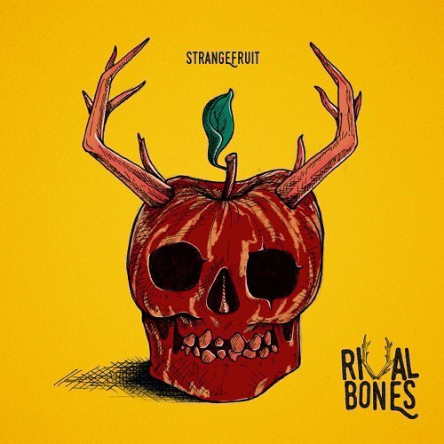 Members of the Rival Bones family. The day is finally here.  Since the start of 2018 we've been writing, recording & gigging relentlessly. Finally the day has come.  This is StrangeFruit. ☠️🍎 http://hyperurl.co/c3twxn
