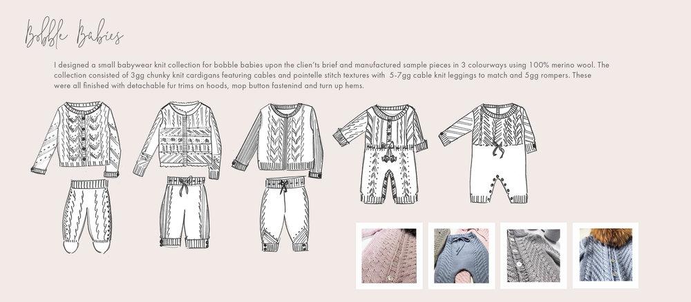 UK knitwear manufacturing, sampling and produciton
